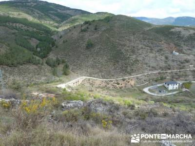 Senda Genaro - GR300 - Embalse de El Atazar - Patones de Abajo _ El Atazar; historia del senderismo